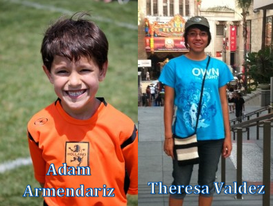 The Tutoring Solution's Norco Student's of the Month: Adam Armendariz (Aug. 2013) and Theresa Valdez (Sept. 2013)