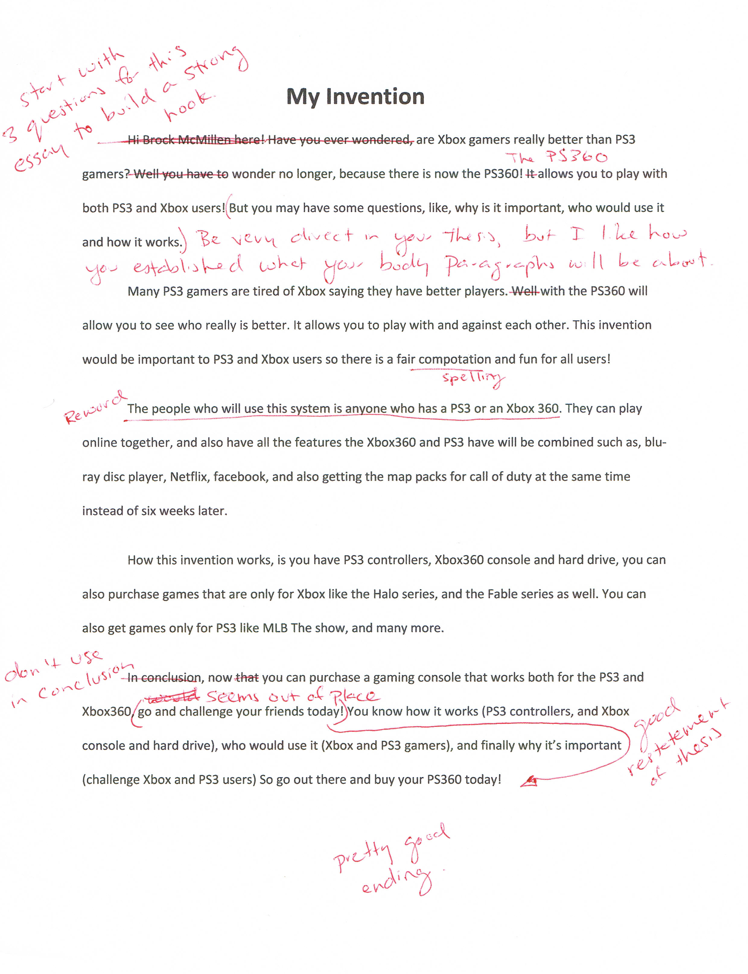 five paragraph essay assignment Write a good five paragraph essay following this outline will help students write a great five paragraph essay and hopefully receive an a on their next assignment.