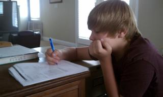 One of The Tutoring Solution's Students - Connor Winkler