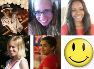 From Left to Right: David Dillon, Julia Schemmer, Jennifer Aneke, Alex Bernstein, and Jessica Senior