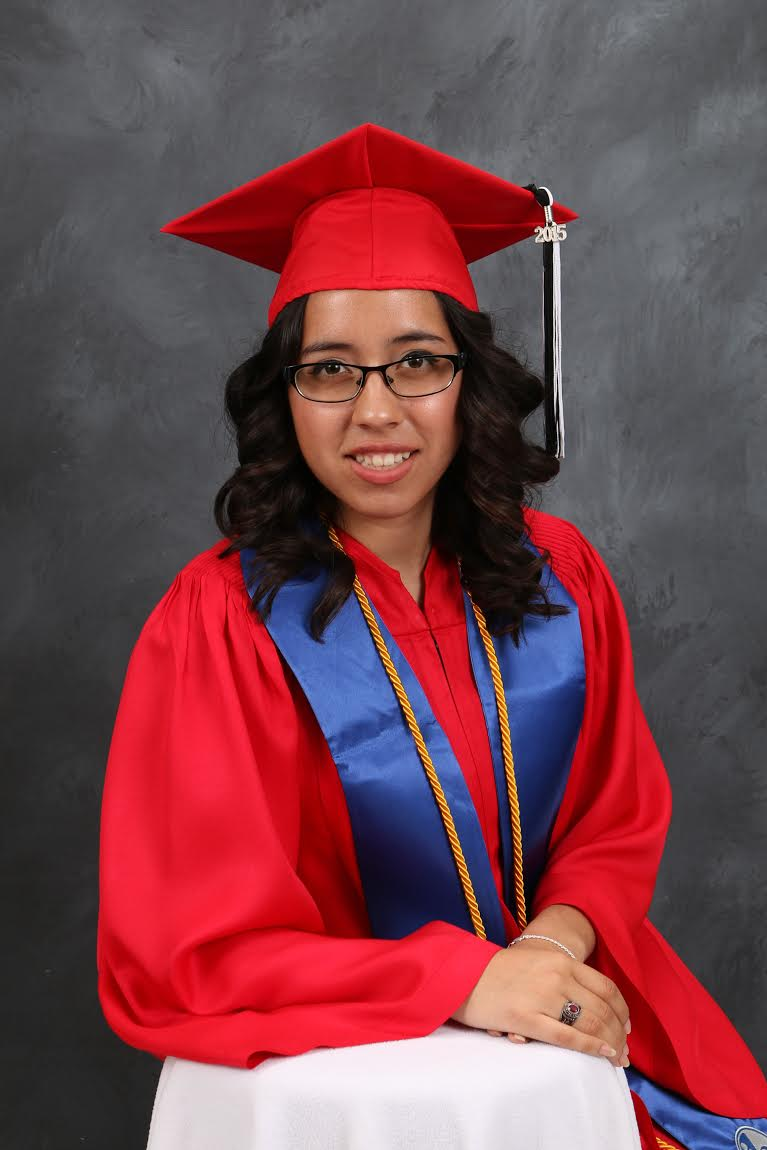 Theresa Valdez' Graduation Picture
